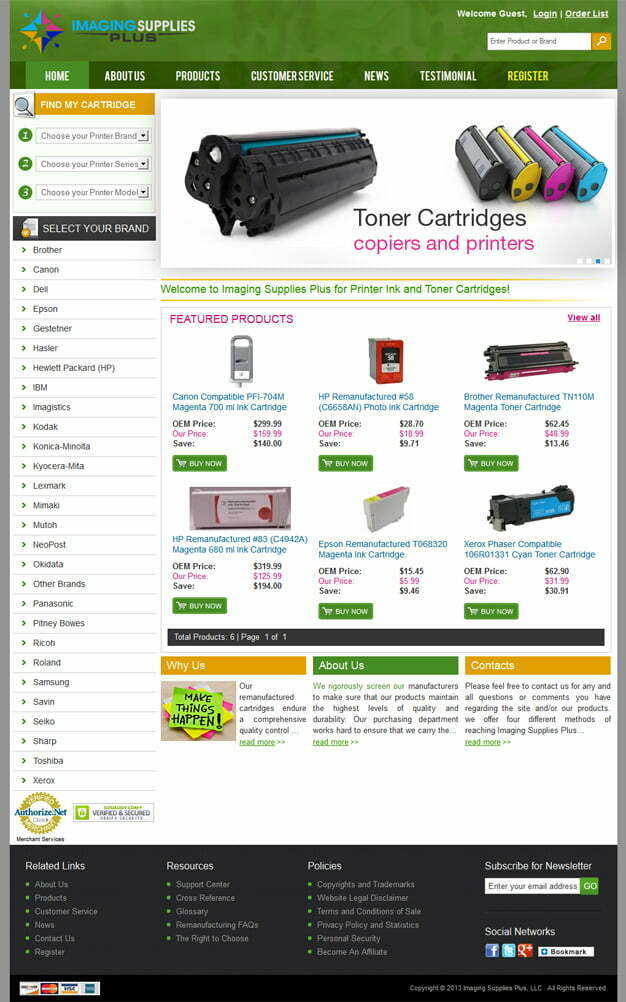 Imaging Supplies Plus