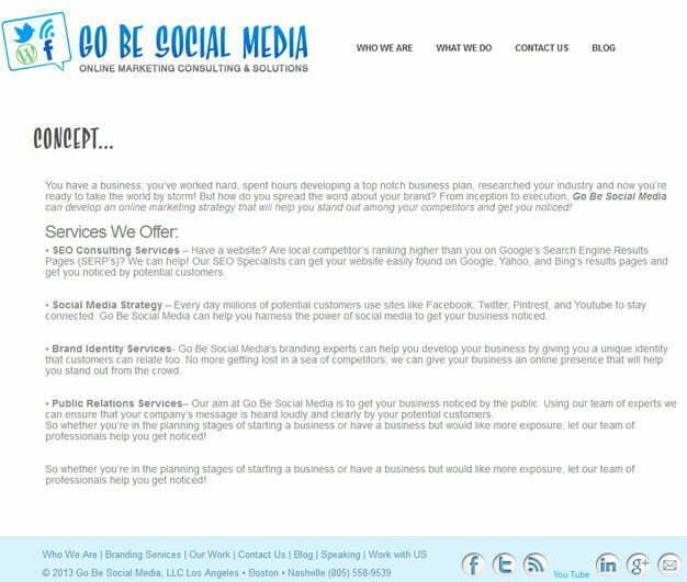 Go Be Social Media