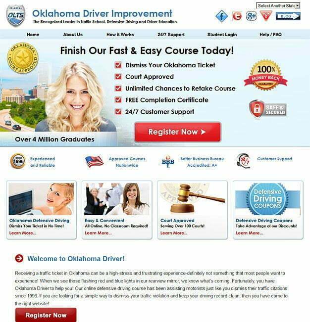 Oklahoma Driver Improvement