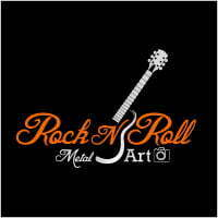 Rock N Roll Metal Art