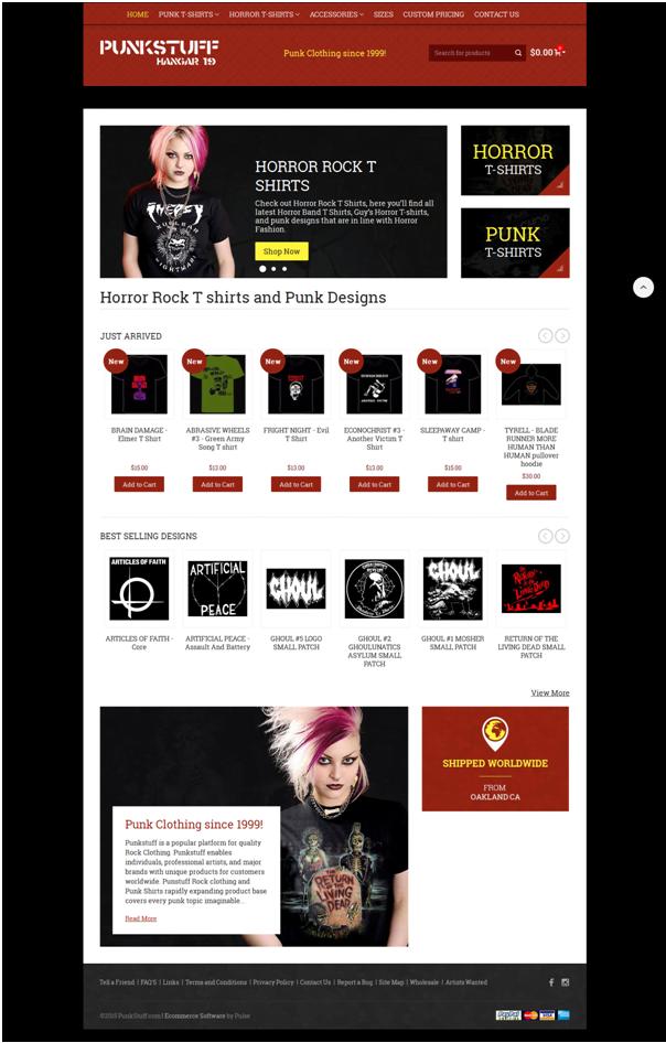 Punkstuff Homepage