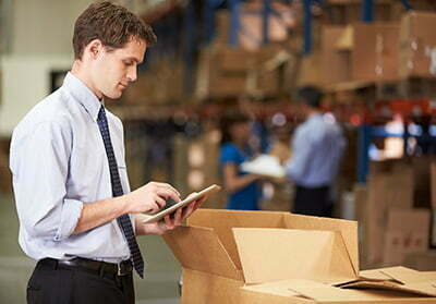 Multi Location Warehouse Management System using tablets