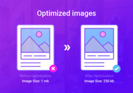 Optimized images