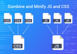 Combine and Minify JS and CSS