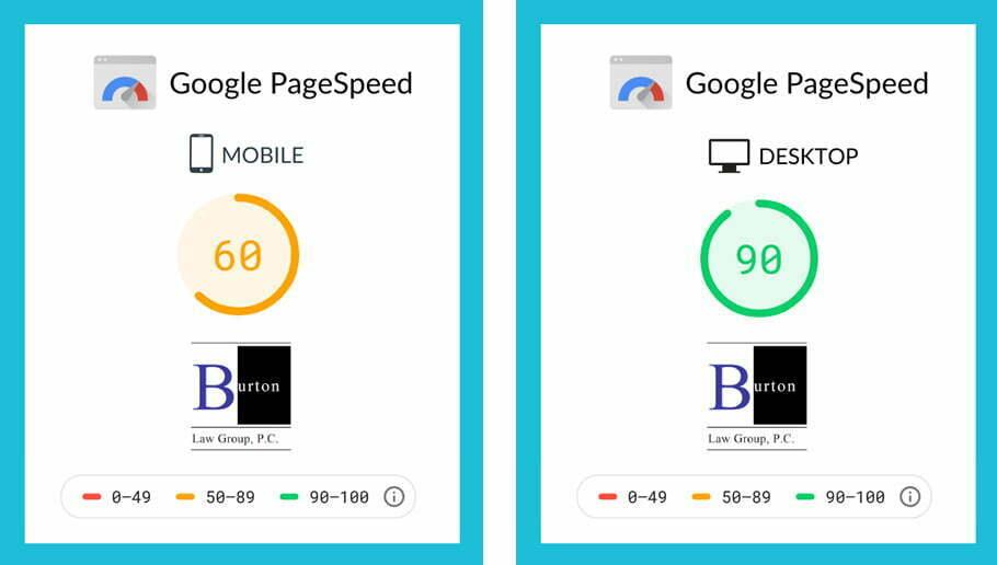 Burtonlaw - Pagespeed improvement